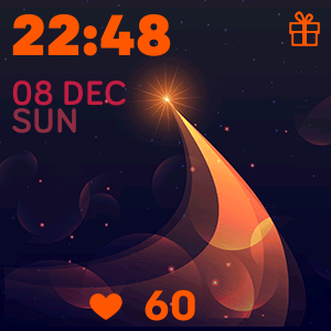 Christmas 4 Watch Face