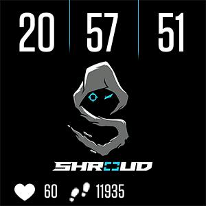 Shroud Clock Face
