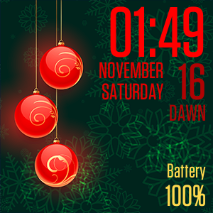 Advent Calendar 25 Watch Face