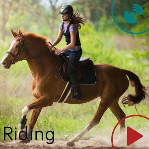 Riding door Whitetashi | App-galerie van Fitbit
