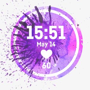 Purple Light Circle