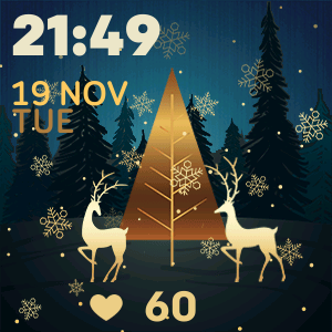 Christmas Tree 26 Watch Face