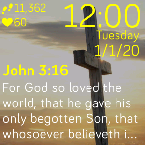 Bible Verse of the Day by Mollior Merx | Fitbit App Gallery